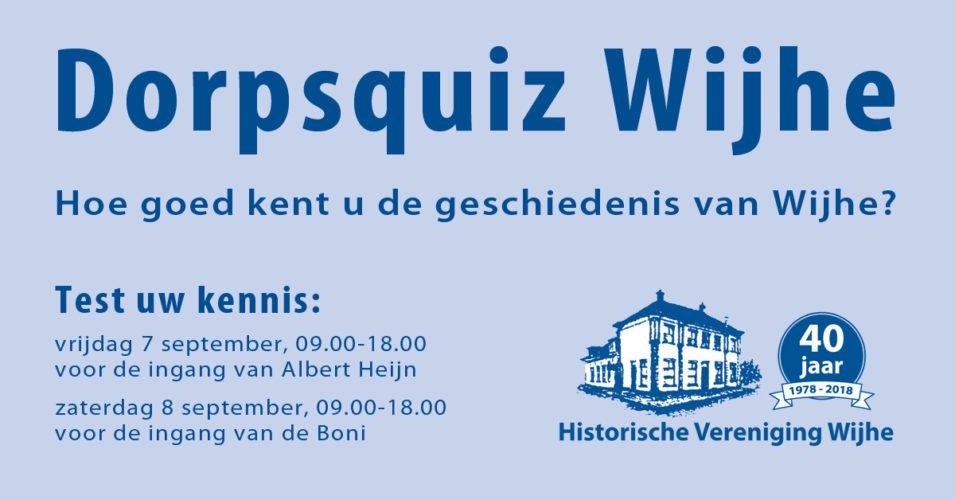 Doe mee aan de Dorpsquiz Wijhe!